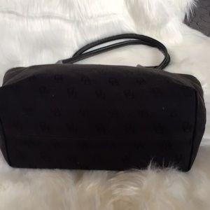 Dooney & Bourke Bags - Dooney and Bourke Black Monogram Tote Bag
